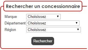 Rechercher un concessionnaire moto en France